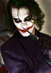 Want Trouble ? The Joker - Batman DC cosplay