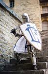 For Lordaeron ! - Warcraft Alliance footman -