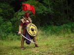 Haradrim Champion, the Snake warrior