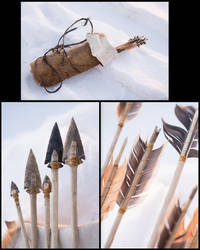 Prehistorical Quiver and Arrows - Rahan