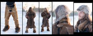 Prehistorical Costume inspired by Otzi the Iceman