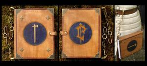 Uther the Lightbringer Paladin's Libram - Warcraft by Carancerth