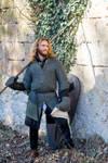13th Century Warrior in armor