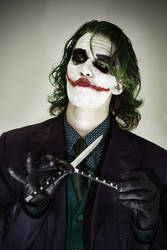 Let's Play A Game - The Joker - Batman cosplay