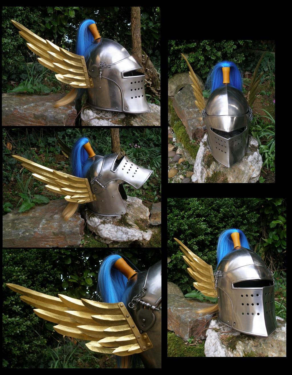 Lordaeron Captain Helmet - Human Alliance Warcraft by Carancerth