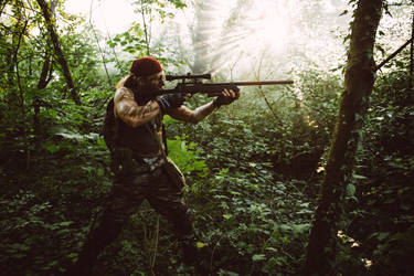 Jungle Hunter - Catachan Warhammer 40k Imperium by Carancerth