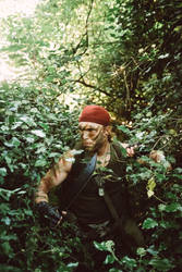 Through the Jungle - Catachan Warhammer 40K human by Carancerth