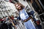 Warcraft World premiere Paladin, in Paris
