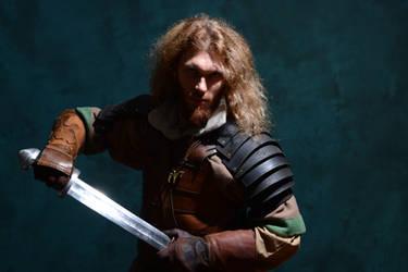 Rohirrim Warrior - Middle Earth Con' in Paris by Carancerth