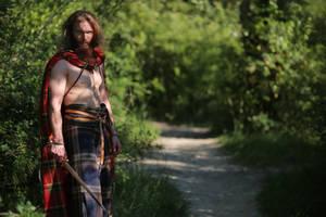 Tragicomix - the Hairy Gaul Warrior by Carancerth