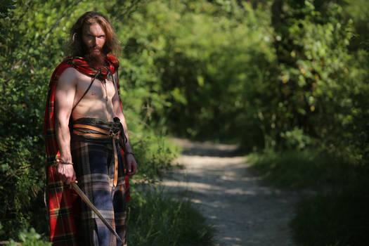 Tragicomix - the Hairy Gaul Warrior