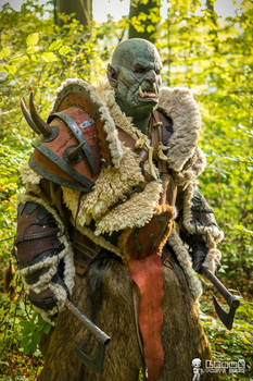 Horde Warrior - Warcraft Orc - Realistic Reforged
