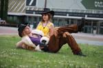 Irvine and Selfie ! Final Fantasy VIII Cosplay