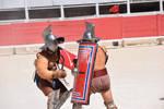 Gladiator Fight : Murmillo VS Thraex