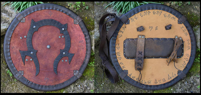 Warcraft Horde Orc Shield + Tutorial