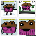 Muffin to laugh about