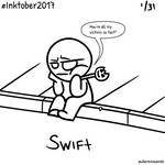 Oct1 - Inktober Day 1: Swift