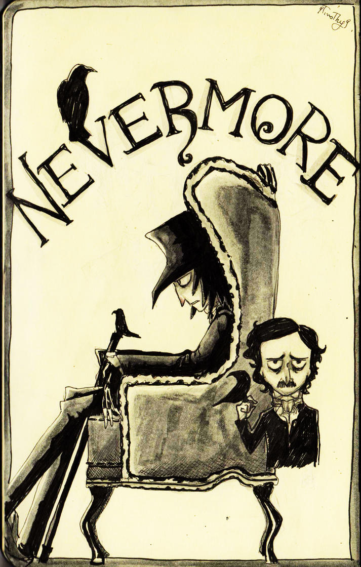 Nevermore - Sketch by 9Timothy9