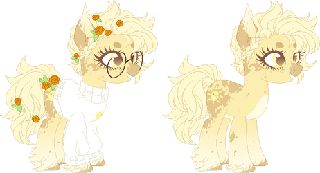 OC Ref: Sunny by deertails