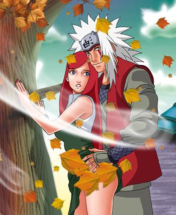 Kushina And Jiraiya? - Naruto by Bigfish2