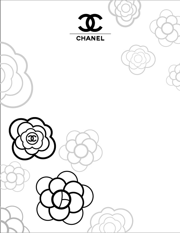 chanel logo wallpaper hd