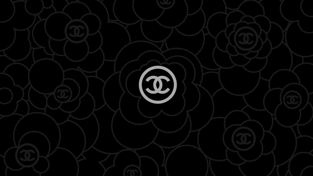 Chanel-Wallpaper-2-Black by wmchin2003