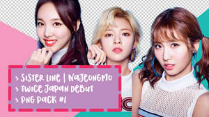 TWICE Japan Debut PNG Pack #1