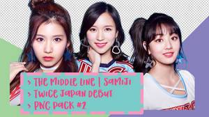 TWICE Japan Debut PNG Pack #2