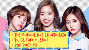 TWICE Japan Debut PNG Pack #3
