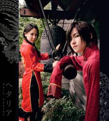 Dragon and Phoenix I by masa-kocha