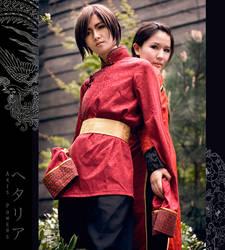Dragon and Phoenix II by masa-kocha