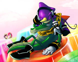 Second is Vecpio  all chaotix by BP-In45