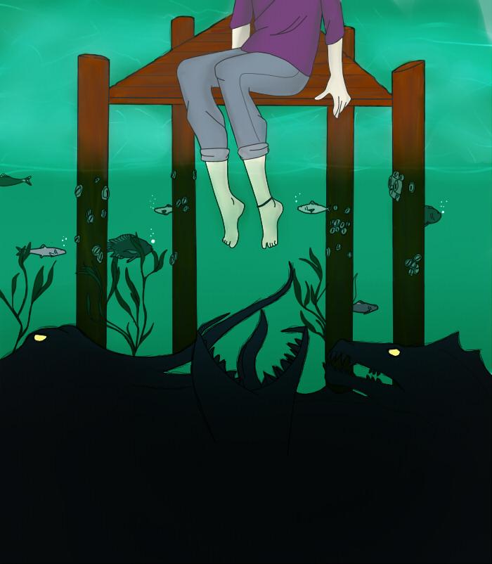 What Lurks Below by XxNagato-KitxX