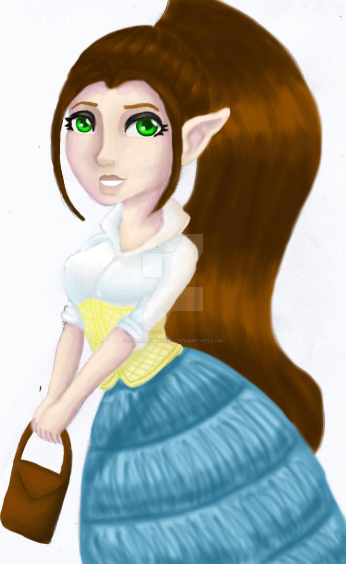 Fantasygirlpaint by indigocrowgirl