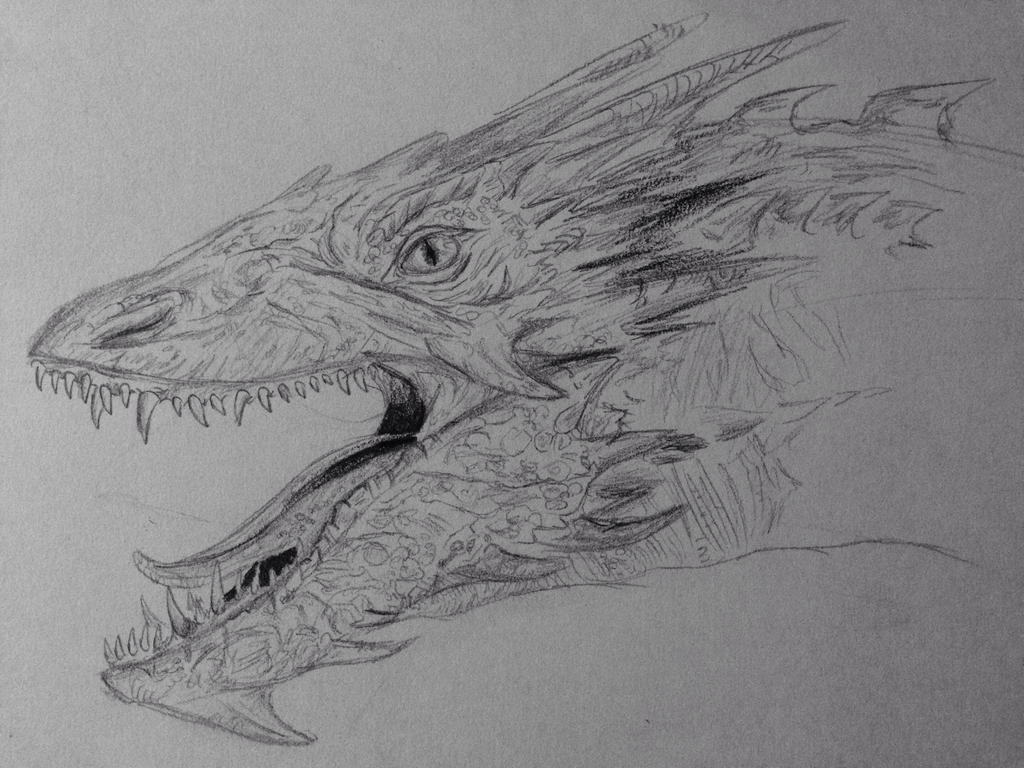 Smaug The Stupendous by vulkanosity