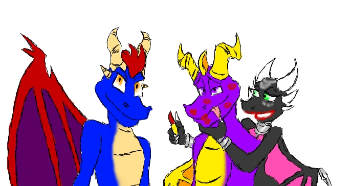 spyro and flame gay fanfiction