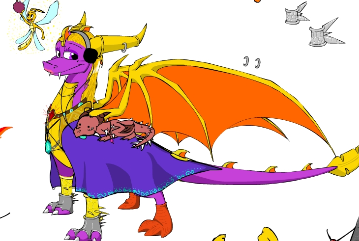 Dress up Spyro by SexyCynder