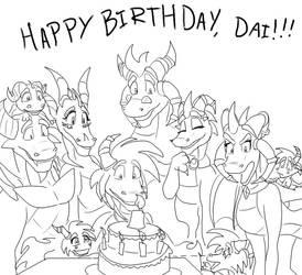 BG Happy birthday Dai