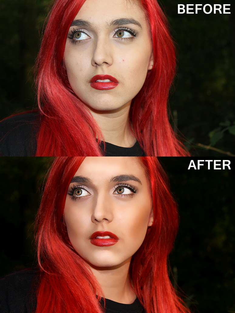 Red head retouch by Tarja2