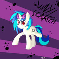 Vinyl Scratch by Ailynd