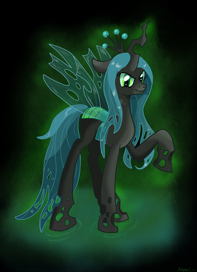 Queen Chrysalis by Ailynd