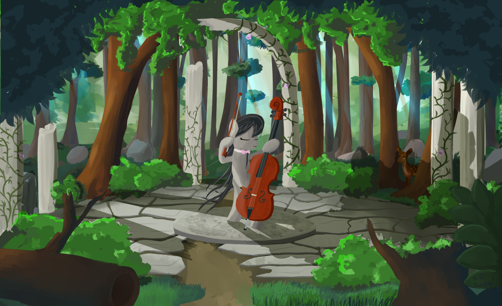 Forest Melody by Ailynd