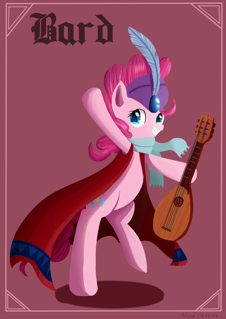 Pinkie Pie - Bard by Ailynd