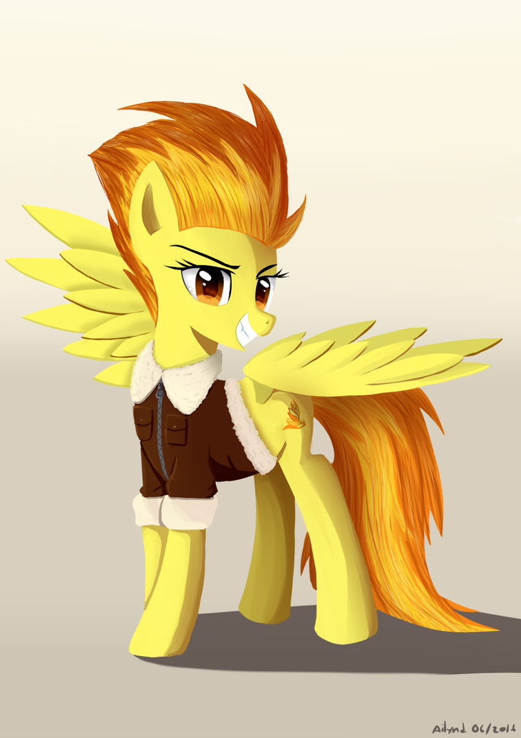 Captain Spitfire by Ailynd