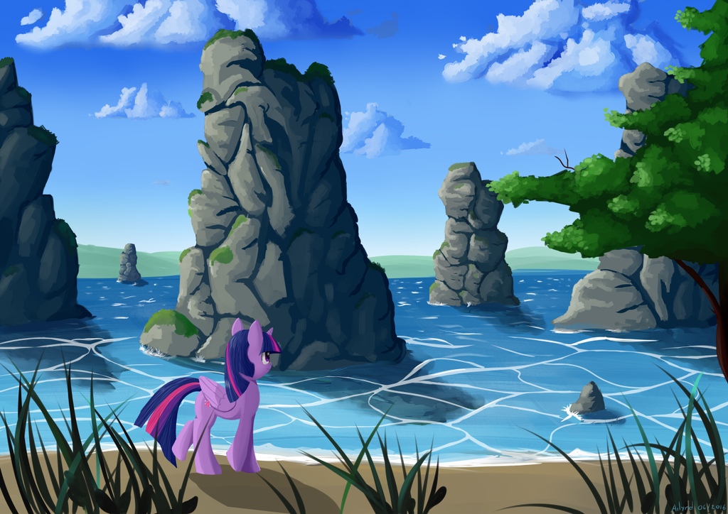 Azure Lake by Ailynd