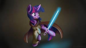 Twilight Sparkle - Jedi by Ailynd