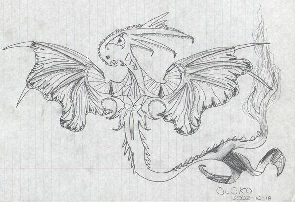 Fuzzy dragon by sebhtml