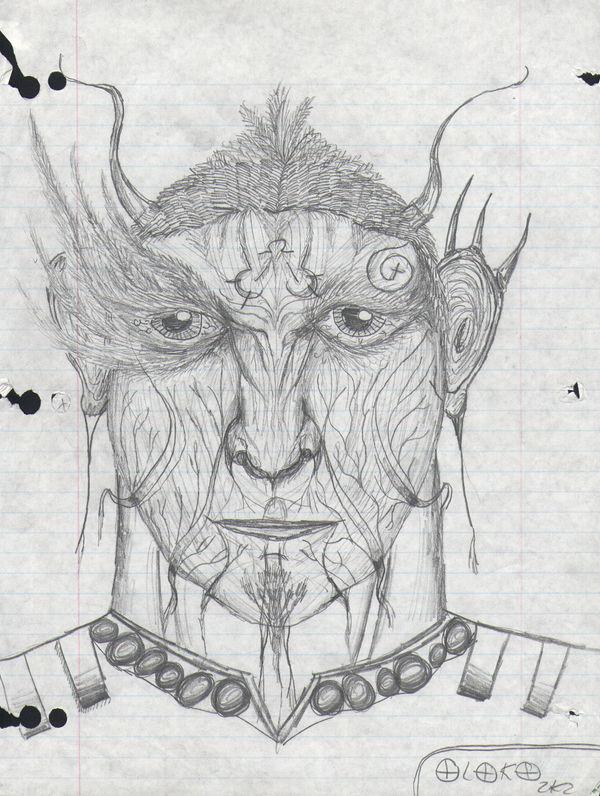 dread face by sebhtml