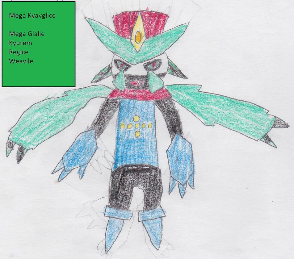 Mega Kyavglice Fusemon by Aquatic-Knight