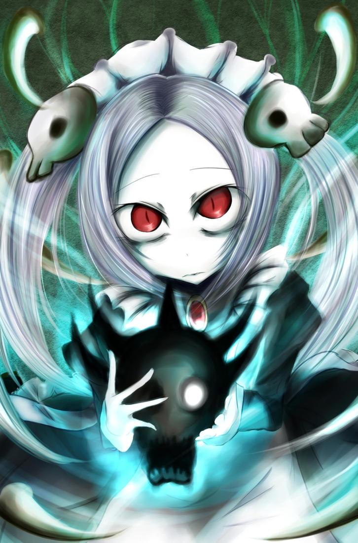 Skull Heart by kuzusanpai